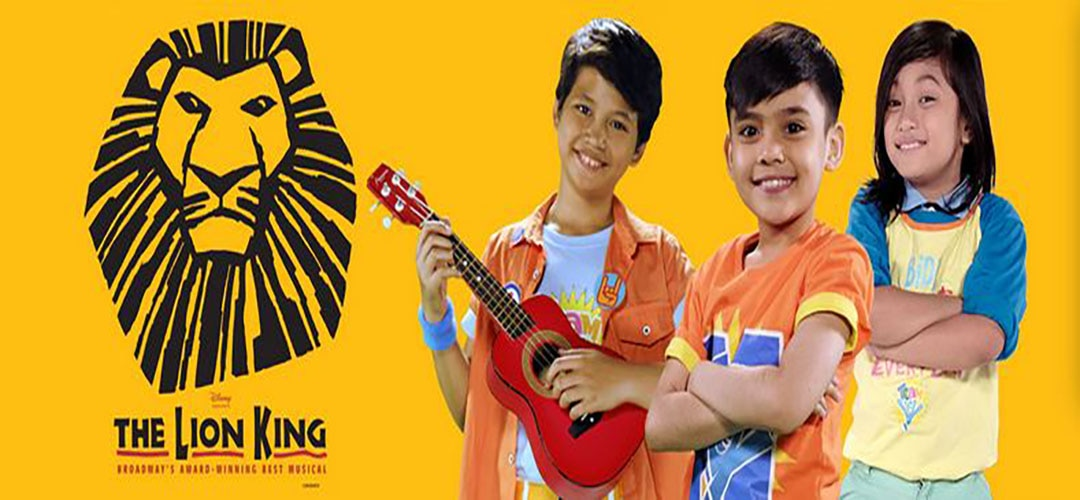 'Team YeY's' Santino shines as Young Simba in 'The Lion King' musical abroad