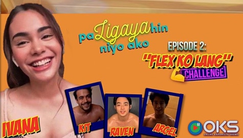 PaLIGAYAhin Niyo Ako: Hotties Kit, Argel, and Raven sweat it out for Ivana!