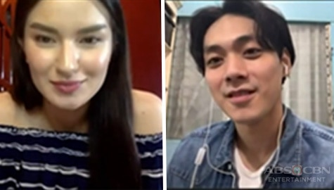 Brian Gocheco and Diana Mackey spark 'kilig' in Kapamilya Chat's Compliment Battle