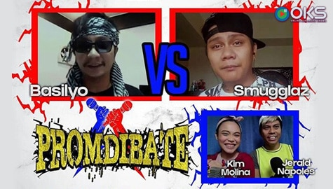 """Wala Ka Sa Mayor Ko!"": Smugglaz, Bassilyo battle it out in Promdibate on OKS"