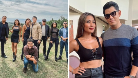 Bubbles Paraiso and the newest 'kontrabida' squad on FPJ's Ang Probinsyano share off-cam snapshots!