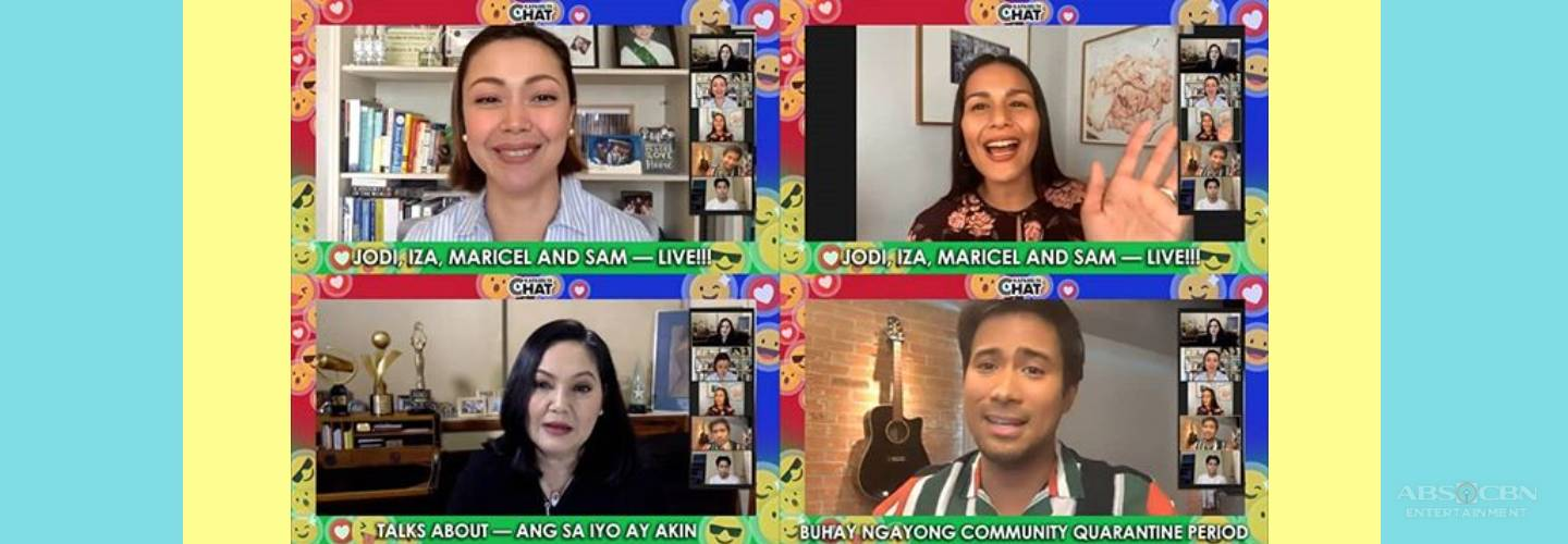 Kapamilya Chat: How would Maricel, Jodi, Iza, and Sam spend their budget in this bidding challenge?