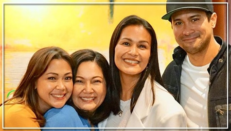Maricel Soriano describes behind-the-scene bonding and 'new normal' tapings with Ang Sa Iyo Ay Akin co-stars