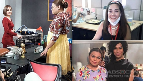 Brenda Mage, Tart Carlos on being part of Ang Sa Iyo Ay Akin, working with Iza and Jodi