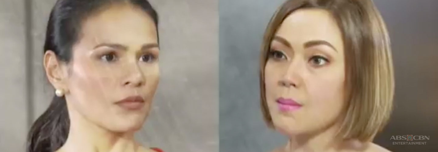 "Iza confronts Jodi in the hit series ""Ang Sa Iyo Ay Akin"""