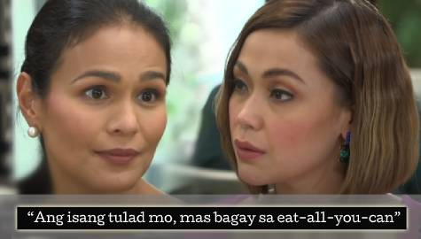 Ellice and Marissa exchange feisty innuendos in Ang Sa Iyo Ay Akin Week 8