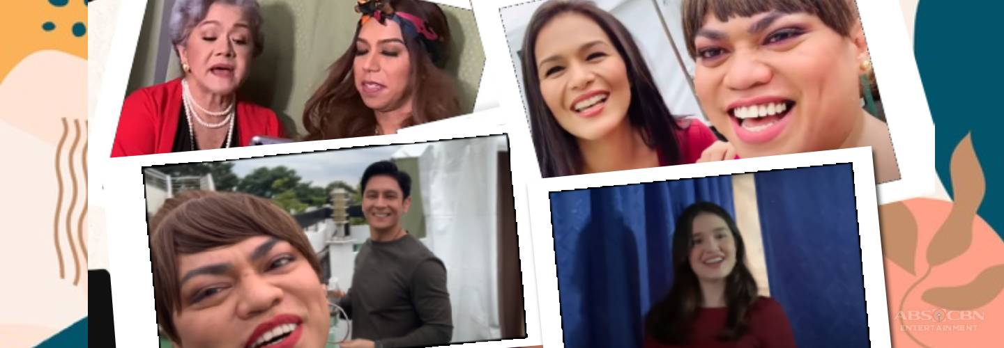 Behind-the-scene: Loads of good vibes in the happy taping bubble of Ang Sa Iyo Ay Akin