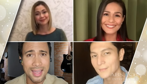 Team Ang Sa Iyo Ay Akin holds a virtual Christmas concert as 'thank you' gift to loyal fans and viewers