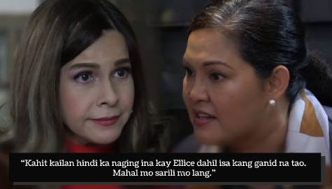 Ellice's mom Belen kicks off wicked plans in Ang Sa Iyo Ay Akin Week 19