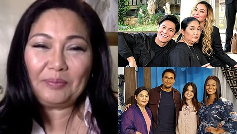 Maricel Soriano gamely takes on a 'bukingan' challenge about the Ang Sa Iyo Ay Akin stars