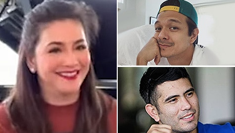 Hotspot: Regine shouts out to former co-stars, leading men in fun challenge