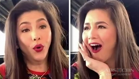 "Regine Velasquez gets real about stage accidents and concert bloopers in ""Waah or Wooh"" Challenge"
