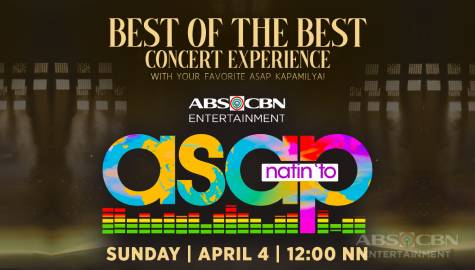 Best of the best All-Star party this Easter Sunday on 'ASAP Natin 'To'