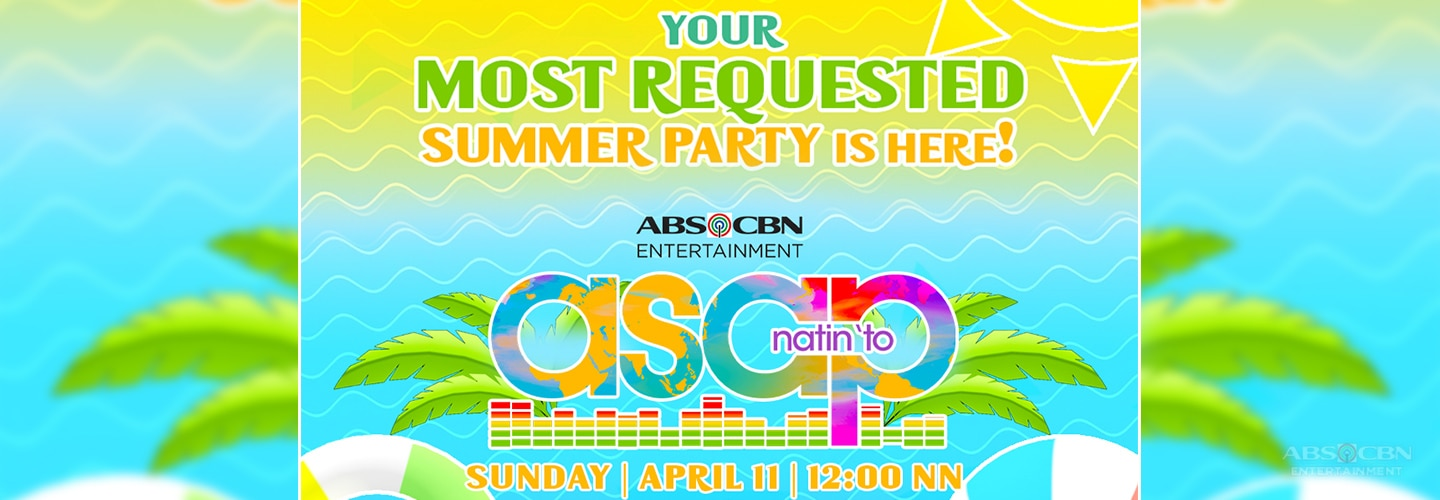 Feel the summer vibe with more best-of-the-best performances on ASAP Natin 'To