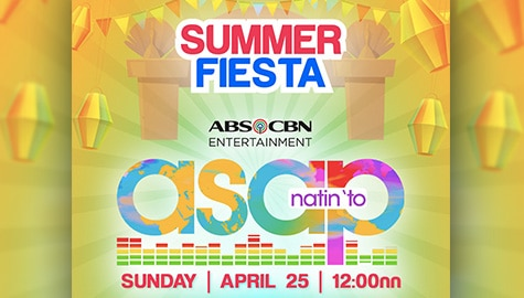 Join summer fiesta party this Sunday on 'Asap Natin 'To'