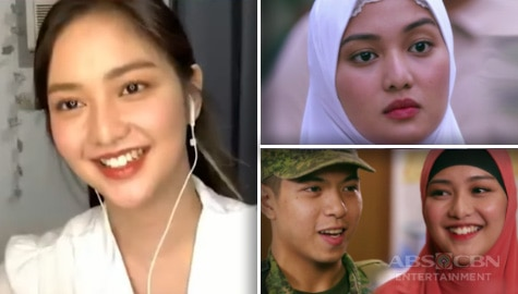 Charlie Dizon on chemistry with Nash Aguas and working with the 'dream team' for A Soldier's Heart