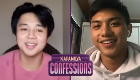 Yves Flores, Royce Cabrera bare new discoveries about themselves this pandemic