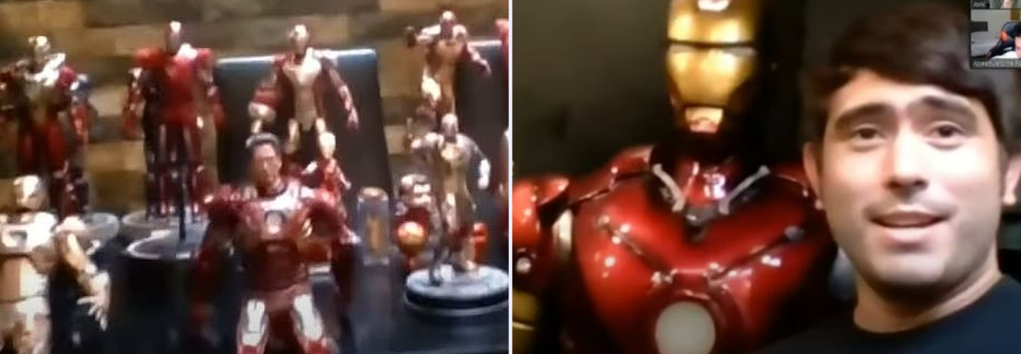 Gerald Anderson shares a sneak peek of his Iron Man collection