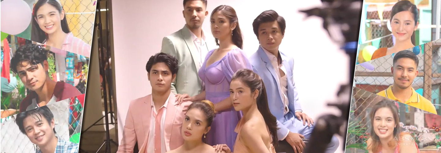 """Bagong Umaga stars give us a tour of their """"location"""" and an exclusive behind-the-scene access to their pictorial"""