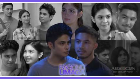 10 scenes featuring the kilig, refreshing love triangle of Tisay, Ely, and Otep in Bagong Umaga