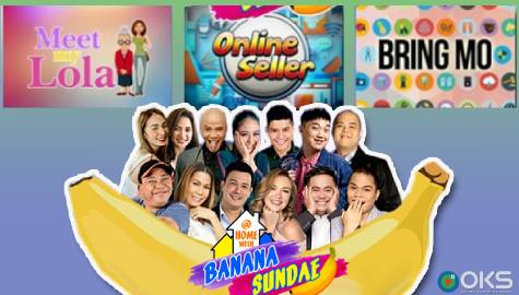 "At Home With Banana Sundae: BananaKada in ""Meet My Lola"" and ""Online Seller"" gags"