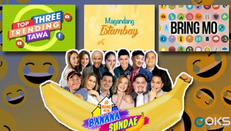 BananaKada spoofs Kapamilya programs in the 5th episode of At Home with Banana Sundae
