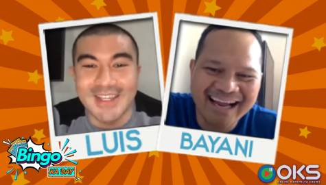 Bayani joins Luis and Kapamilya players in Bingo Ka 'Day!