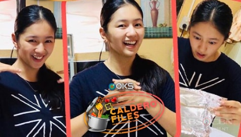 Kaori Oinuma shares Steamed Baked Sushi recipe, plays 'Never Have I Ever' on Caldero Files