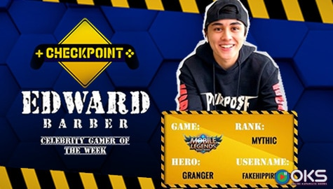 "Edward Barber reveals what he loves most about Mobile Legends in ""Checkpoint"""
