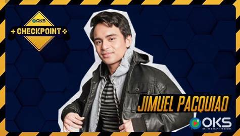 Jimuel Pacquiao shows skill in playing Mobile Legends on Checkpoint