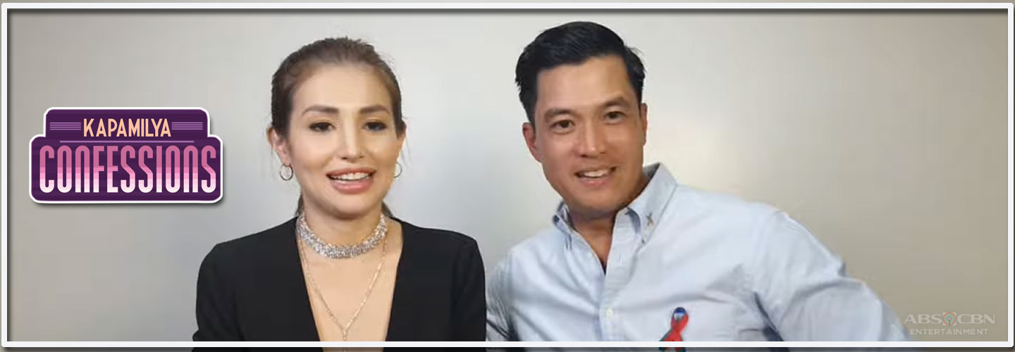 """Sunday Night Fever"" stars Diether Ocampo and Nathalie Hart on Kapamilya Confessions"