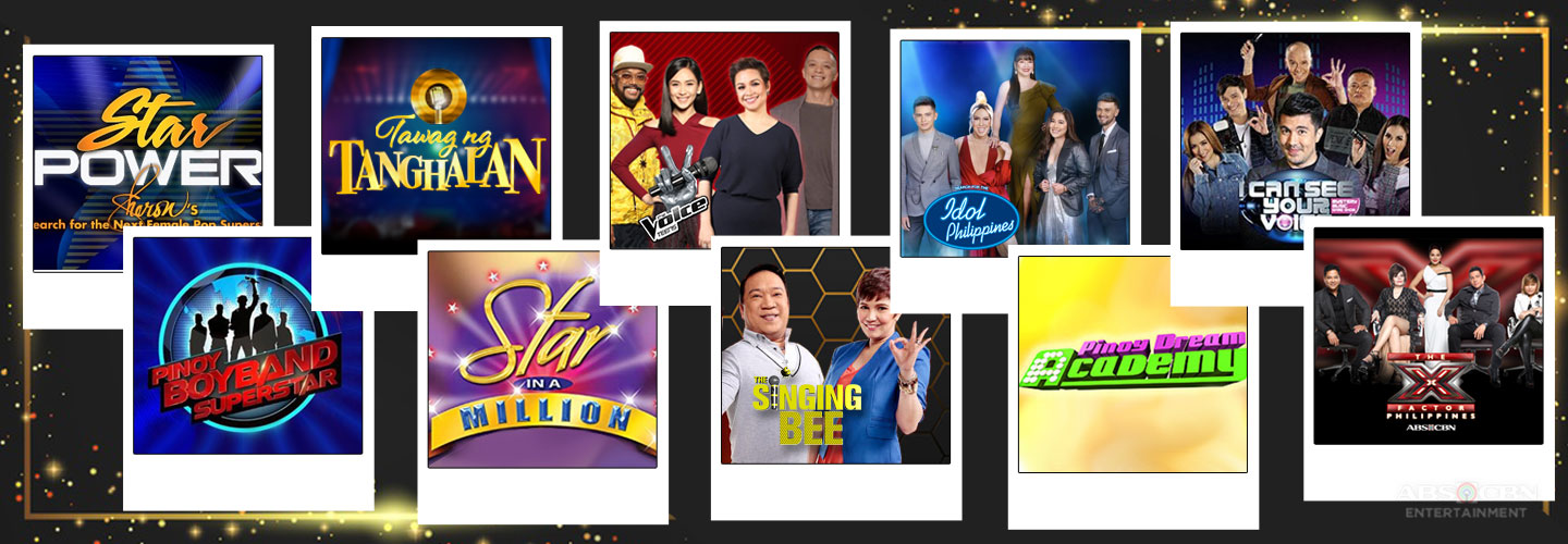 game shows and contests that proved Filipinos' passion for singing