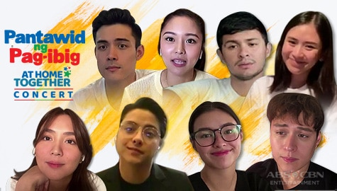 Kapamilya stars share talent, insight, inspiration in Pantawid Ng Pag-ibig At Home Together digital fundraiser