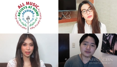 "ABS-CBN stages digital concert series in ""All Music: Artists at Home Sessions"""