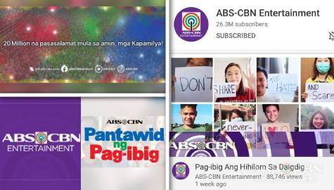 ABS-CBN's Entertainment digital universe brings hope, inspiration, empowerment to tens of millions of Kapamilyas worldwide