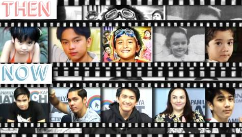 Former child stars recreate cute throwback poses on Kapamilya Chat