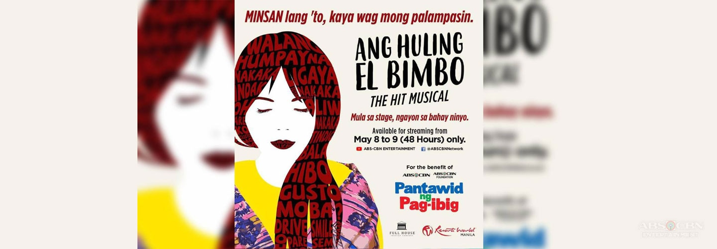 """Ang Huling El Bimbo, the Musical"" streams for free on ABS-CBN Facebook, YouTube"