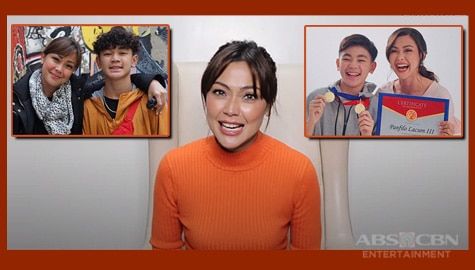 "Jodi Sta. Maria talks about motherhood, raising son Thirdy in ""Just Like You"""