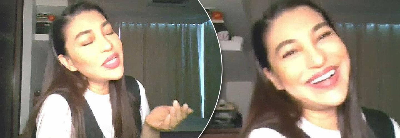 "Lani Misalucha performs latest single ""I Can't Give Anymore"" on Kapamilya Chat"