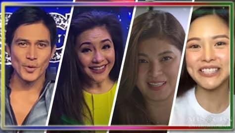 """Tibay at saya ng pamilya, ibinida ng Kapamilya stars sa """"Forever Kapamilya"""" Station ID"""