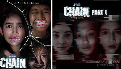"MNL48 OSHIS Magdadala Ng Kilabot Sa Bagong Digital Mini Series Na ""MNL48 Presents: Chain"""
