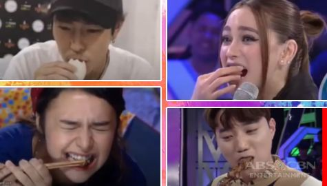 WATCH: Kapamilya stars eating favorite and exotic local delicacies