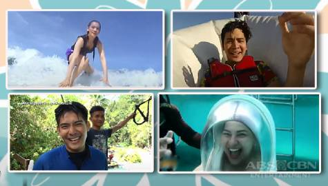 Must-try fun, extreme outdoor water activities as seen on Kapamilya shows