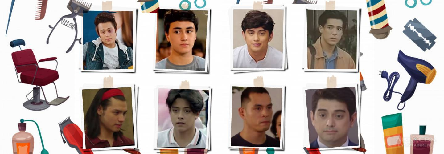 WATCH: Get countless pogi points with the coolest hairstyles of Kapamilya male heartthrobs