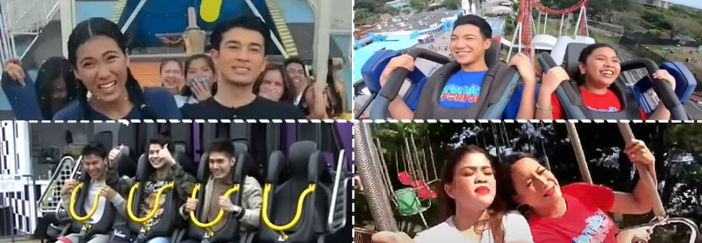 Exenang Extreme: Kapamilya stars-approved extreme amusement park rides from around the world