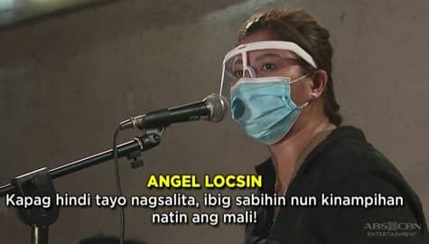 TV Patrol: Angel Locsin nanawagan sa iba pang artista na manindigan para sa Kapamilya network Image Thumbnail