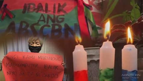 TV Patrol: Suporta sa Kapamilya network at mga manggagawa, bumuhos maging sa social media Image Thumbnail