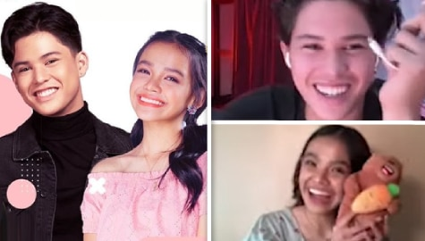 "WATCH: Kyle Echarri, Zephanie Dimaranan play fun, exciting down-to-the-wire ""Bring Me"" game on Hotspot"