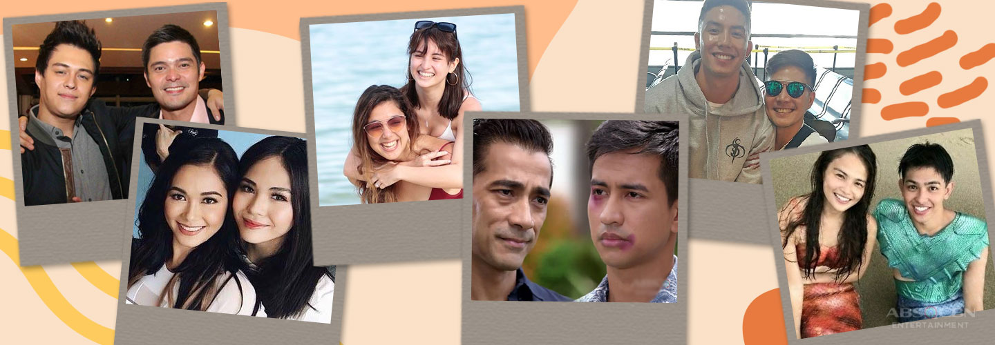 Kapamilya Snaps: 15 pairs of celebrities we didn't know are actually related