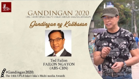 """Failon Ngayon"" wins big in the 14th Gandingan Awards"